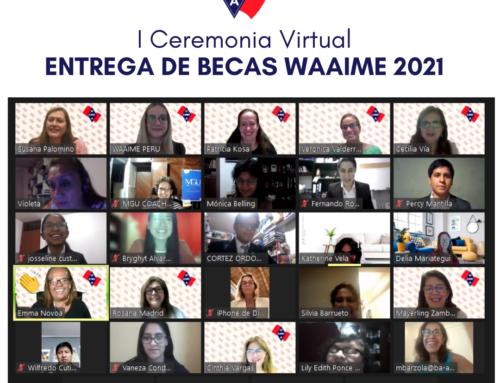 Entrega de becas WAAIME 2021 – I